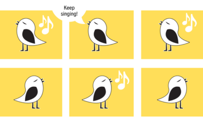 Keep singing like the birds…